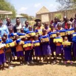 25 students from Illoirero Primary School, identified as most in need, were the first to receive support from The Maarifa Foundation